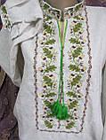 """Вышиванка """"Дубовый веночек"""" на сером д\п, 550\450 (цена за 1 шт. + 100 гр.), фото 2"""