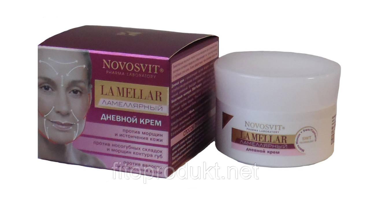 Ламеллярный дневной крем La Mellar 56+ против морщин 50 мл Novosvit