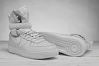 Кроссовки мужские высокие белые Nike Special Field Air Force (аир форс, реплика) (реплика), фото 1
