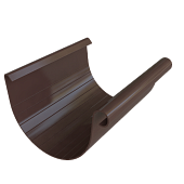 Ринва коричнева 125 мм Альта Профіль (3м)