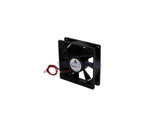 Вентилятор (кулер) 92х92, 12V, 0.12A (2 pin), фото 2