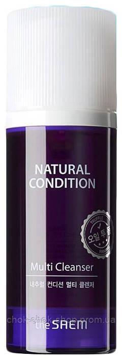 Средство для умывания с экстрактами черники и кокоса The Saem  Natural Condition Multi Cleanser 110g