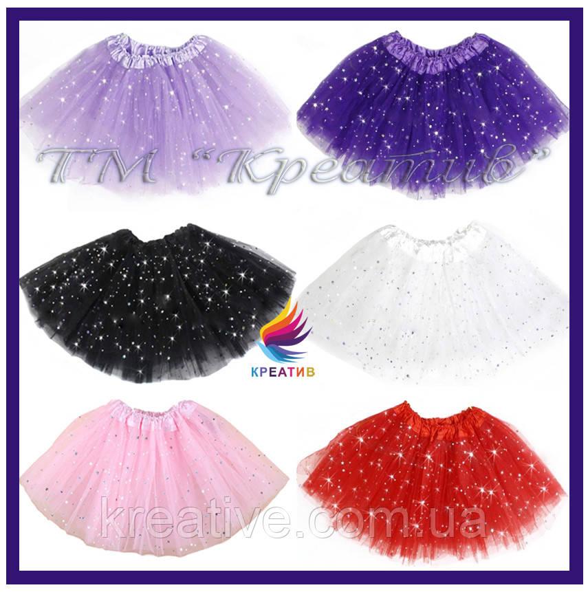Детские юбки пачки для занятий танцами под заказ (оптом.)
