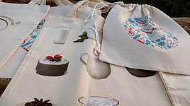Рекламные сумки и промо рюкзаки с логотипом из двунитки
