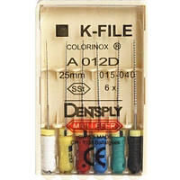 Dentsply K-files #15-40