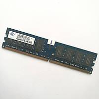 Оперативная память Nanya DDR2 2Gb 667MHz PC2 5300U CL5 (NT2GT64U8HB0JY-3C) Б/У, фото 1