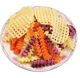 Ніж для хвилястою нарізки овочів «Compact» рожевий, фото 8