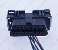 Разъем электрический 16-и контактный (37-16) б/у