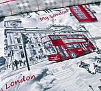 Лондон, перкаль (Полуторний), фото 3