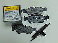 Roadhouse 0258000 Колодки тормозные задние Mercedes, VW LT (Германия)
