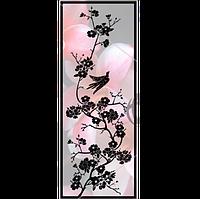 Стеклянная дверь Сакура