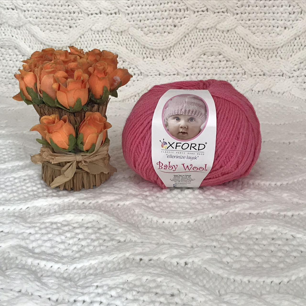 """Oxford Baby Wool """"015"""" Нитки для вязания оптом"""