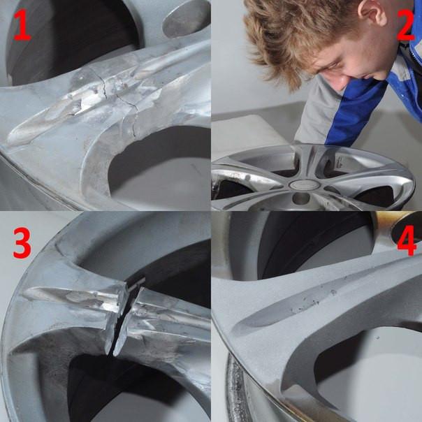 Ремонт автомобильных дисков любой сложности