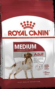 Сухий корм Royal Canin Medium Adult для дорослих собак середніх порід, 4КГ