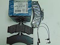 Meyle 025 290 7620 Колодки тормозные дисковые Mercedes, VW LT (Германия)