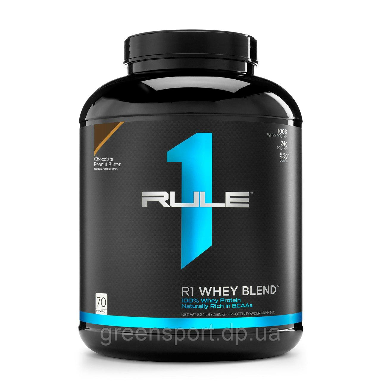Протеин Rule One Proteins R1 Whey Blend (2,38 кг) Шоколадно-арахисовые сливки