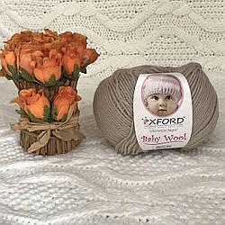 """Oxford Baby Wool """"011"""" Нитки для вязания оптом"""