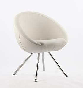 Офисное кресло Lobo 4NP белое кожзаменитель