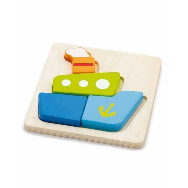 "Пазл Viga Toys ""Кораблик"" (50171)"