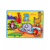 "Рамка-вкладыш Viga Toys ""Животные"" (56435)"
