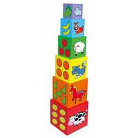 "Набор кубиков ""Пирамидка"" (59461)"