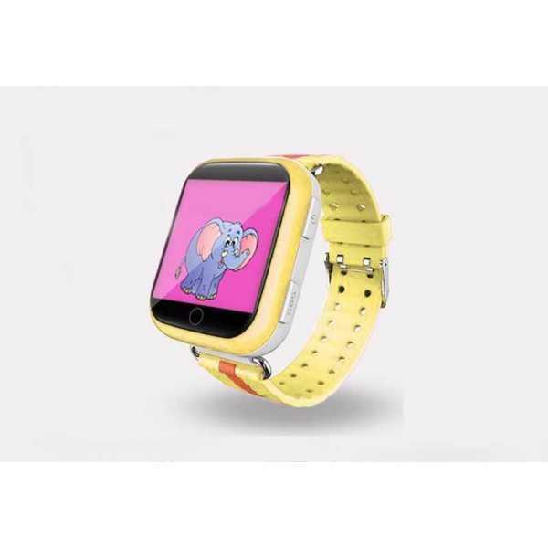 Детские часы c GPS Smart Baby Watch Q100 желтые