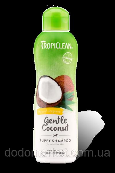 Tropiclean нежный кокосовый шампунь для собак 592 мл