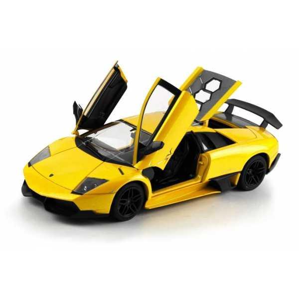 Машинка на р/у 1:18 Meizhi Lamborghini LP670-4 SV металлическая (желтый)