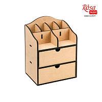 Комод-органайзер, 2 ящика, МДФ, 20х15х26см, ROSA TALENT