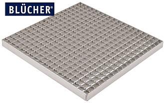 Решітка 394х594 для промислового трапа BLUCHER 400х600 арт. 696.223.394.595