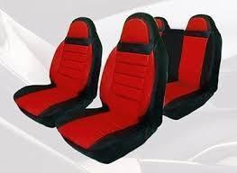 Чехлы на сиденья Вольво С30 (Volvo C30) (универсальные, кожзам, пилот)