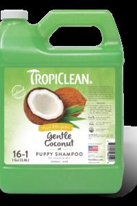 Tropiclean нежный кокосовый шампунь для щенков 3.8 л