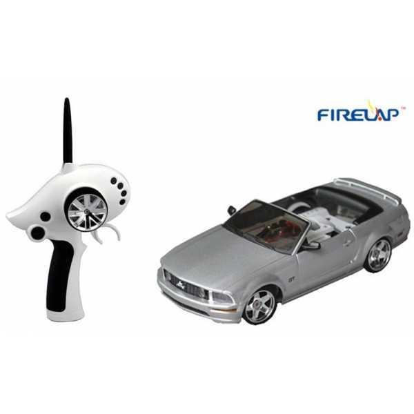 Автомодель радиоуправляемая 1:28 Firelap IW02M-A Ford Mustang 2WD (серый)