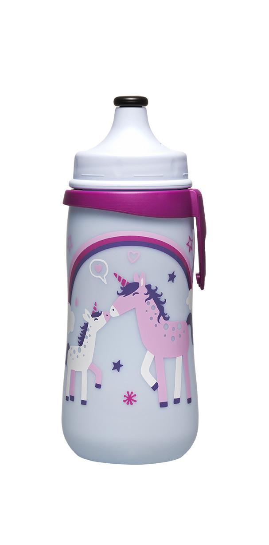 """NIP РР """"Kids Cup""""  з висувною кришечкою 330 мл. (дівчинка), (від 18  місяців),""""PET-Box"""""""