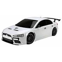Машина на радиоуправлении Шоссе  1:10 Team Magic E4JR Mitsubishi Evolution X (белый), фото 1