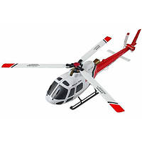 Вертолёт на радиоуправлении с 3D микро 2.4GHz WL Toys V931 FBL бесколлекторный (красный)