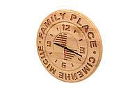 Часы из массива дерева под заказ, фото 1