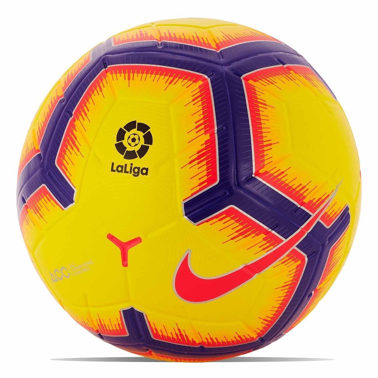 eee61565 Футбольный мяч Nike PL Merlin La Liga 710, цена 2 600 грн., купить в Днепре  — Prom.ua (ID#861996417)