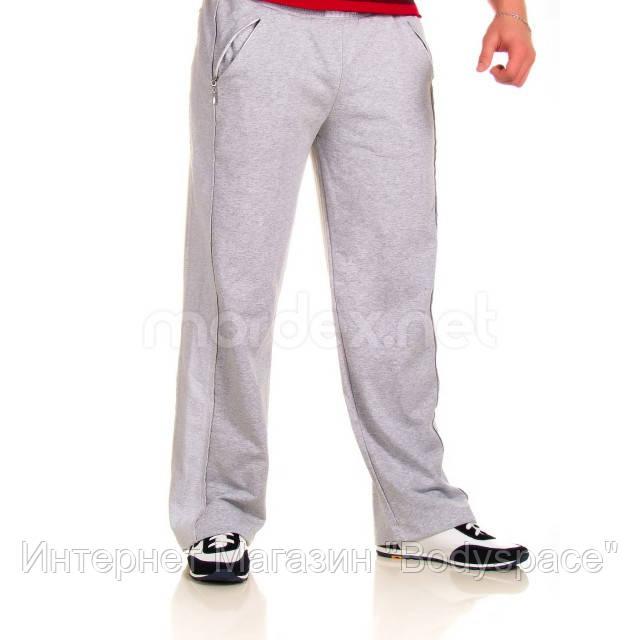Mordex, Штаны спортивные ровные Mordex светло-серые MD3433