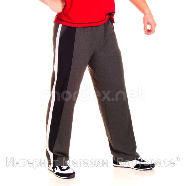 Get Big, Штаны спортивные ровные GET BIG серые MD3446, фото 1