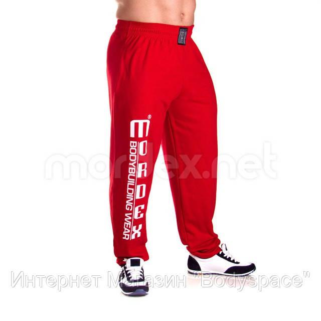 Mordex, Штаны спортивные зауженные Mordex красные MD3555