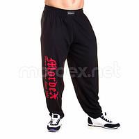 Mordex, Штаны спортивные зауженные Mordex черный/красный MD3562, фото 1