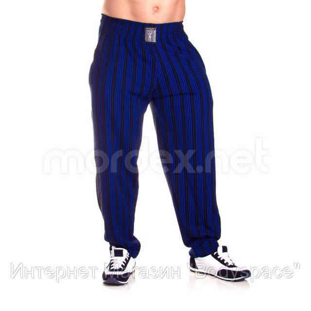 Mordex, Штаны спортивные зауженные Mordex черный/синий MD3586