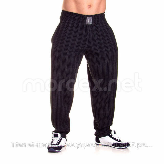 Mordex, Штаны спортивные зауженные Mordex черный/серый A MD3586