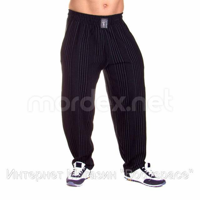Mordex, Штаны спортивные зауженные Mordex черный/серый MD3591