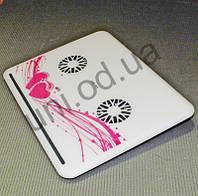 """Стильная охлаждающая подставка кулер для ноутбука 10 """"- 16"""" Notebook Helder"""