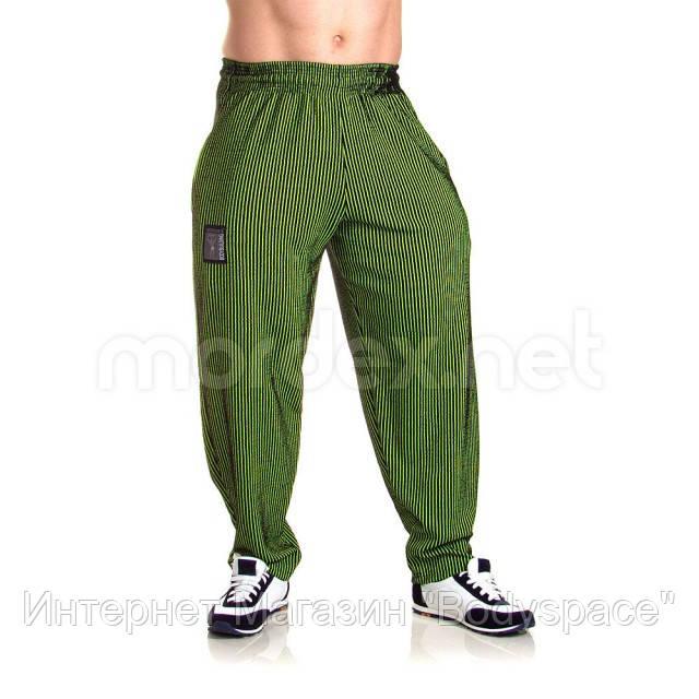 Mordex, Штаны спортивные зауженные Mordex черный/зеленый MD3600