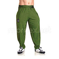 Mordex, Штаны спортивные зауженные Mordex черный/зеленый MD3600, фото 1