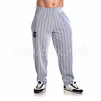 Mordex, Штаны спортивные зауженные Mordex черный/белый MD3600, фото 1