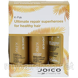 Дорожный набор для поврежденных волос Joico K-Pak Travel Set